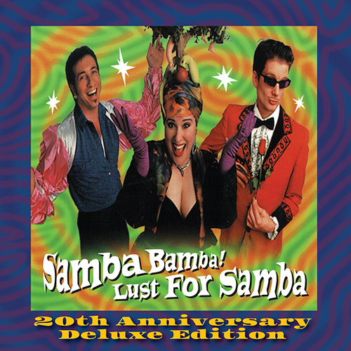 Lust for Samba 20th Anniversary CD cover